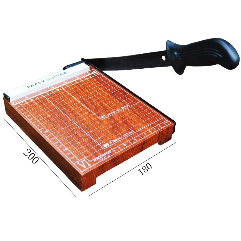 Wood A5 Paper Photo screen protector Cutter Guillotine cutting machine Trimmer Wood Base 3 5 Sheets