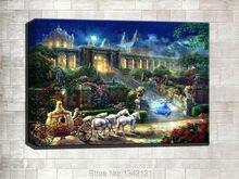 Thomas Kincaid, HD Impresión de Lienzo Decoración Casas Dormitorio Sala de estar Dormitorio Fotografía Artística Pintura Sin marco TM208