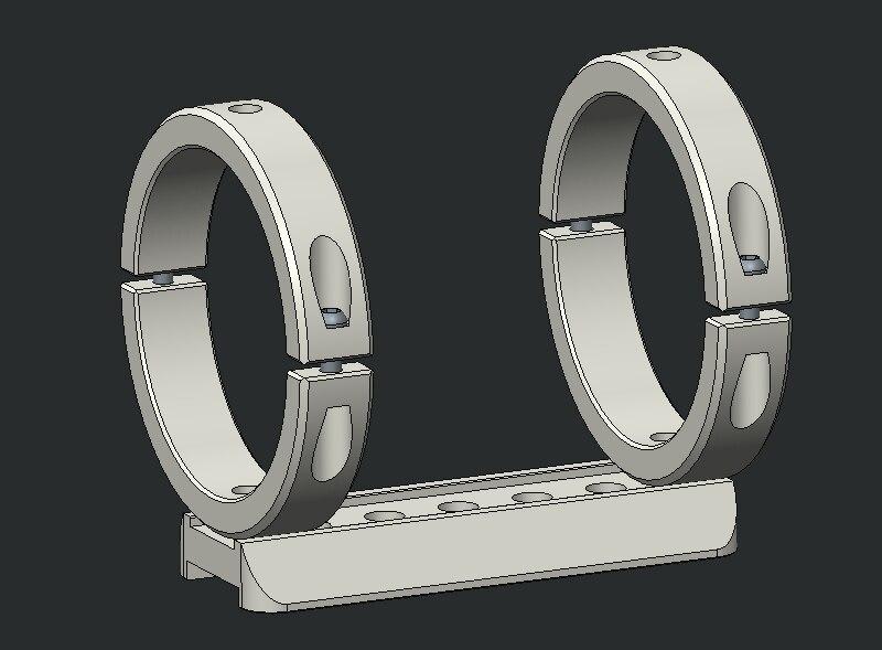 Telescope Mm Tube Mounting Rings