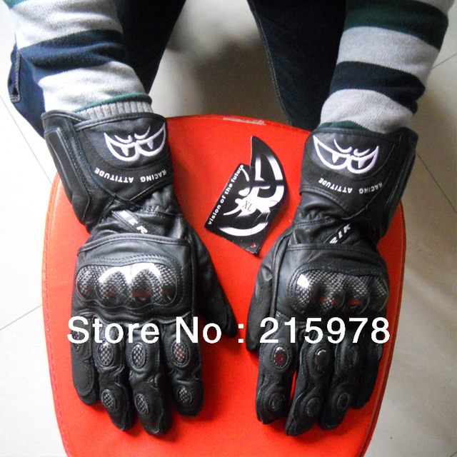 Italy BERIK Motorcycle Gloves GENUINE LEATHER GLOVES CARBON FIBER PROTECTOR