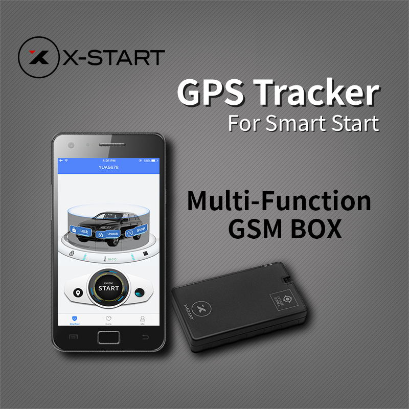 x-start OTU Mini GPS Tracker Vehicle Tracking System for remote smart start with Mizway App Control for android ios Smartphone ...