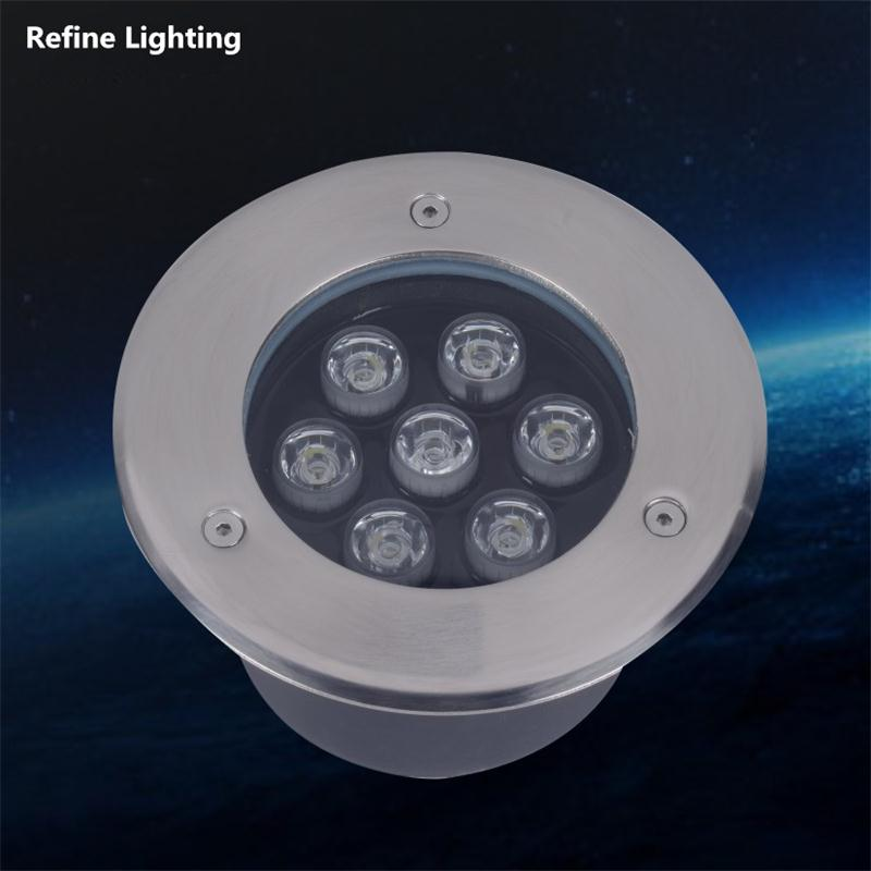 LED Underground Lights 7W Outdoor 12V Patio Pavers Garden Floor Lamp Deck  De Jardim Exterior Stair