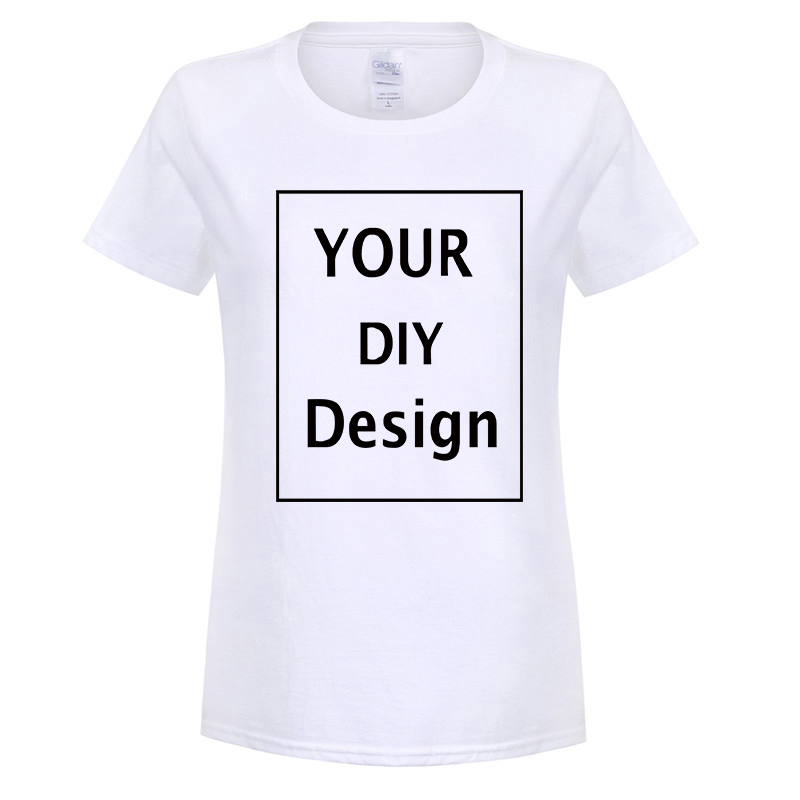 ee53ce456 DIY design Printed cotton T shirt for Women Tops Casual Brand Graphic Tees  Hipster Shirt Femme Womens Clothing plus size S-XL