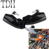 Black Dual Sports Motocross 7/8 1 1/8 Handguard for KTM EXC 300 Husqvarna TE300 TE250 701 MX Enduro 22mm 28mm Hand Guards
