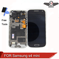 Para samsung galaxy s4 mini i9195 i9190 i9192 lcd screen display toque assembléia com frame + ferramentas