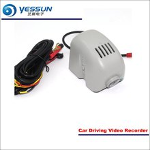 YESSUN Car Front Camera For Audi A7 2015 DVR Driving Video Recorder AUTO Dash CAM Head Up Plug OEM 1080P WIFI yessun car dvr driving video recorder for bmw x5 e53 e70 f15 front camera auto dash cam head up plug