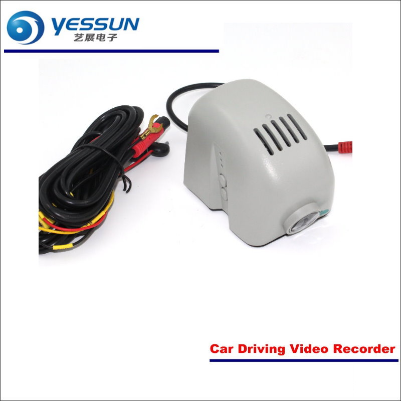YESSUN Car Front Camera For Audi A7 2015 DVR Driving Video Recorder Black Box Dash Cam Head Up Plug OEM 1080P WIFI bigbigroad for land rover discovery sport car wifi dvr video recorder front camera dash cam car black box night vision