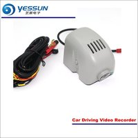 YESSUN Car Front Camera For Audi A7 2015 DVR Driving Video Recorder AUTO Dash CAM Head Up Plug OEM 1080P WIFI