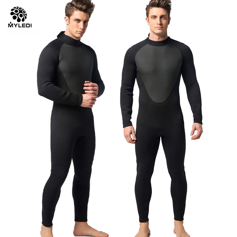 3mm Men divingde Neoprene Scuba Diving Suit One-Piece High Quality Wetsuit For Spearfishing Wet Suit Diving Dress Surf Suits spearfishing wetsuit 3mm neoprene scuba diving suit snorkeling suit triathlon waterproof keep warm anti uv fishing surf wetsuits