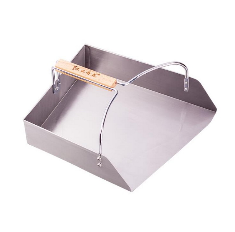New 2018 Dustpans Bucket stainless steel thickening garbage cleaning tools home kitchen loop Dustpan