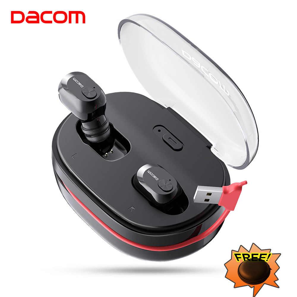 デイコム K6H プロ TWS ハンズフリー空気イヤホンミニヘッドセットステレオ Bluetooth 5.0 イヤフォン芽ワイヤレスイヤホンヘッドフォン PK i12 tws