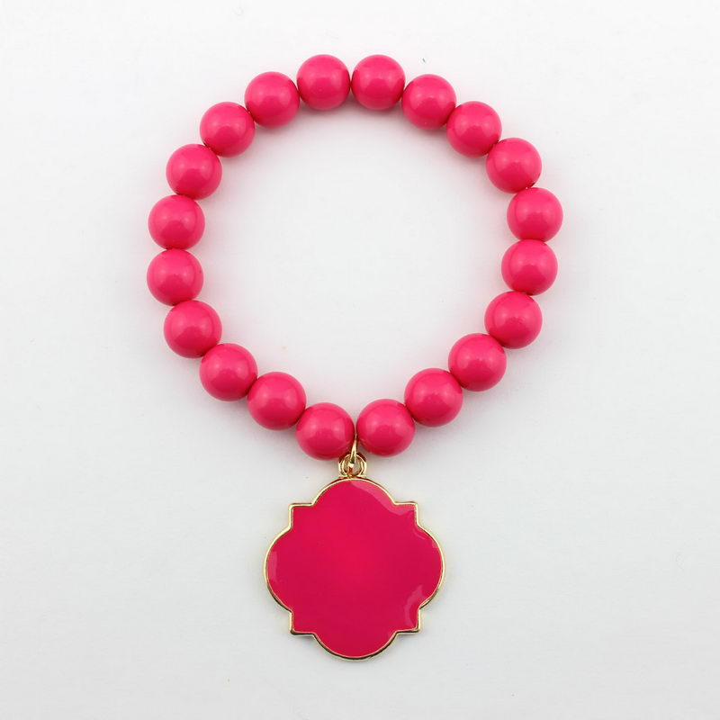 B1840 Gold Hot Pink