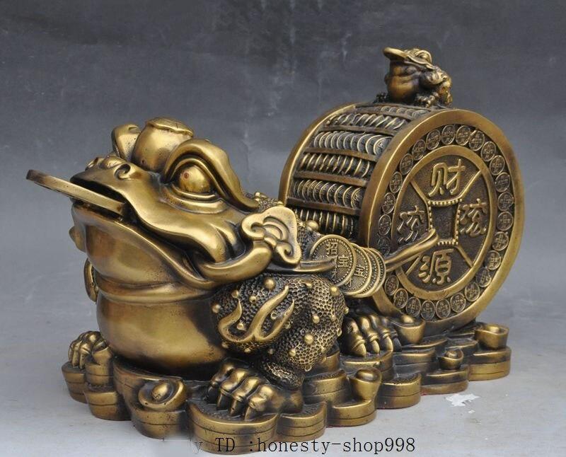wedding decoration 20Old China bronze famous Generals Dragon Guan Gong Guan Yu warrior god Statue