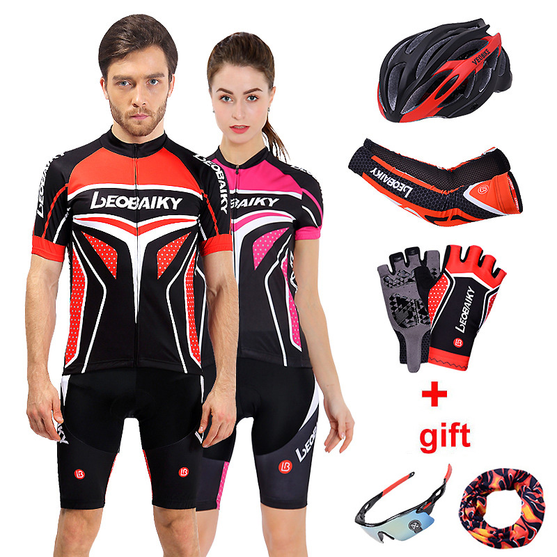 Mens Cycling Short Sets Pro Team 2018 Mountain Bike Clothing Women Sport Wear Quick Dry Bicycle Jersey Set Men Mtb Cycle Clothes