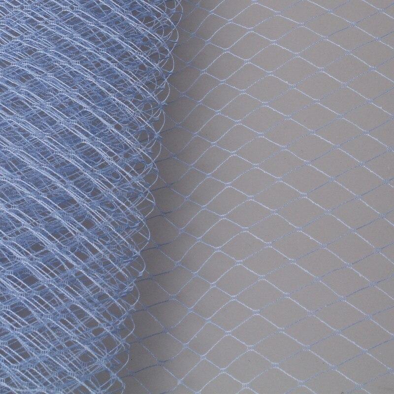 Светло-голубой или несколько цветов 25 см клетка Veiling Дамских Hat Veil DIY аксессуары для волос чародей veils10yard/лот