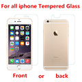 2.5D for iPhone 5S Tempered glass for iPhone 6 6S 7 Plus Screen protector glass film for iPhone 5 SE 5C 4S Explosion-proof film