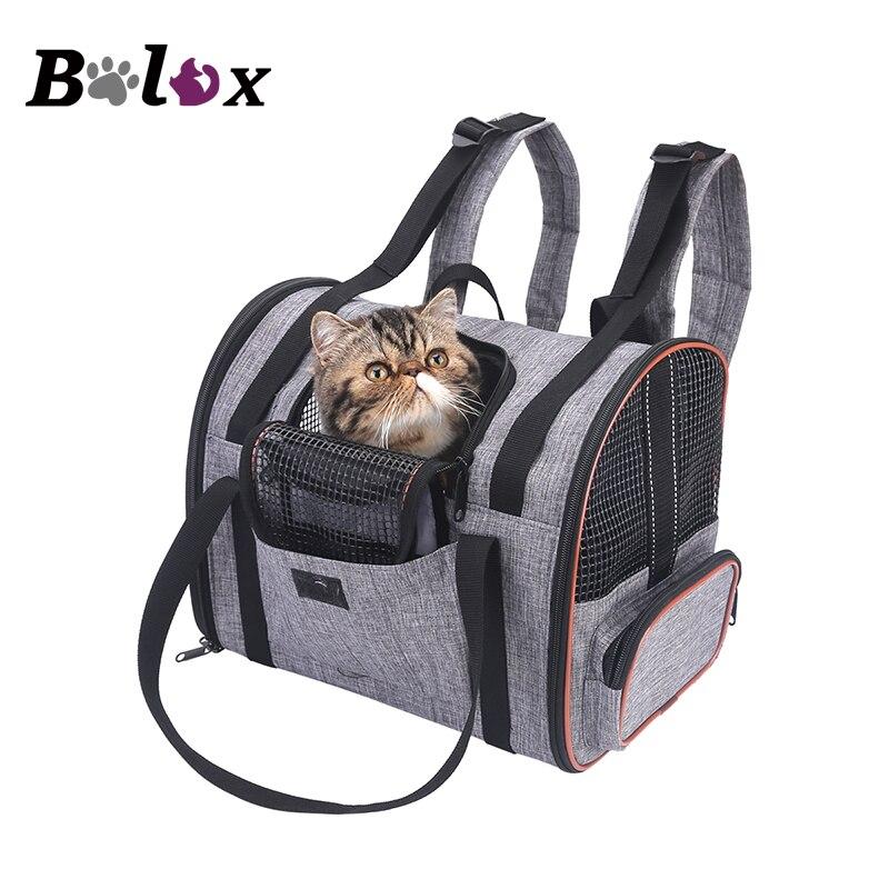Cat Carrier backpack Multi functional Folding Pet Puppy Dog Cat font b Car b font Seat