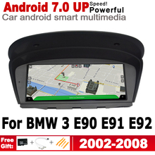 Android 7.0 up IPS car player for BMW 3 E90 E91 E92 2002~2008 CCC original Style Autoradio gps navigation map Bluetooth stereo
