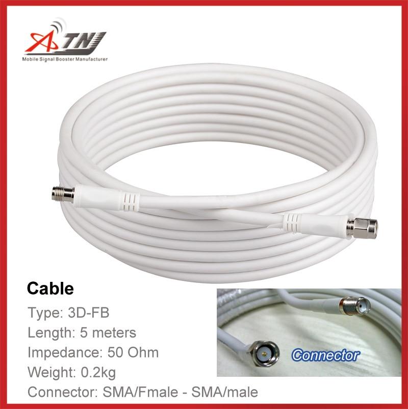 Top Quality ,ATNJ 3D-FB  5m   SMA-Female/SMA-Male  Coaxial Cable