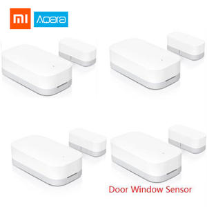 Xiaomi Alarm-System Window-Sensor Aqara Door Smart-Home-Kits Wireless Work with Gateway2-Mihome-App