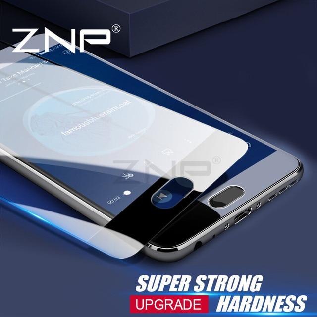 ZNP закаленное Стекло для Samsung Galaxy A5 A7 A3 2016 Полное покрытие Экран протектор для Samsung A7 A5 A3 2017 протектор стекло Плёнки