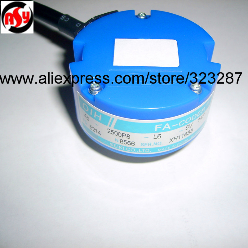 NEW TS5214N8566 ( original model #: TS5214N566 ) Rotary Encoder OIH 48-2500P8-L6-5VNEW TS5214N8566 ( original model #: TS5214N566 ) Rotary Encoder OIH 48-2500P8-L6-5V