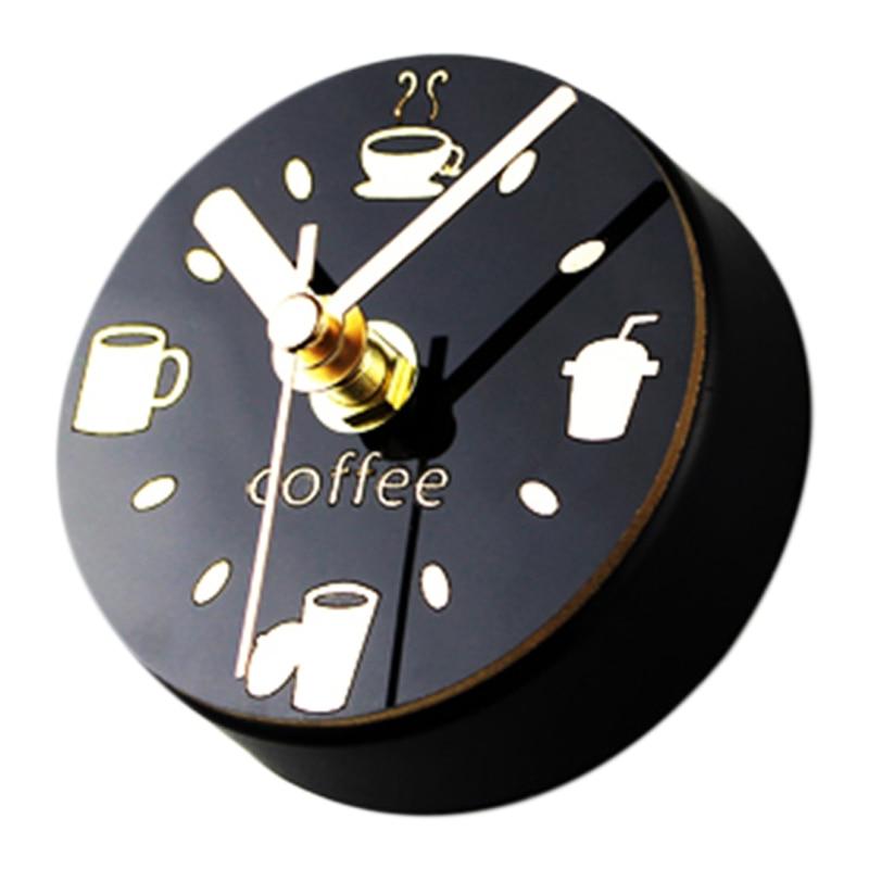 Mute Refrigerator Magnets Souvenir Digital Self Adhesive Wall Clock Fridge Magnets Blanks Magnetic Board Kitchen Watch Mural