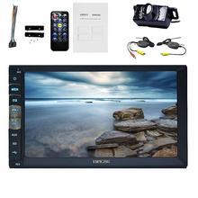car radio coche video player 2 DIN In Dash Car stereo Monitor Car Electronics Bluetooth 2 din Headunit Autoradio FM AM RDS USB
