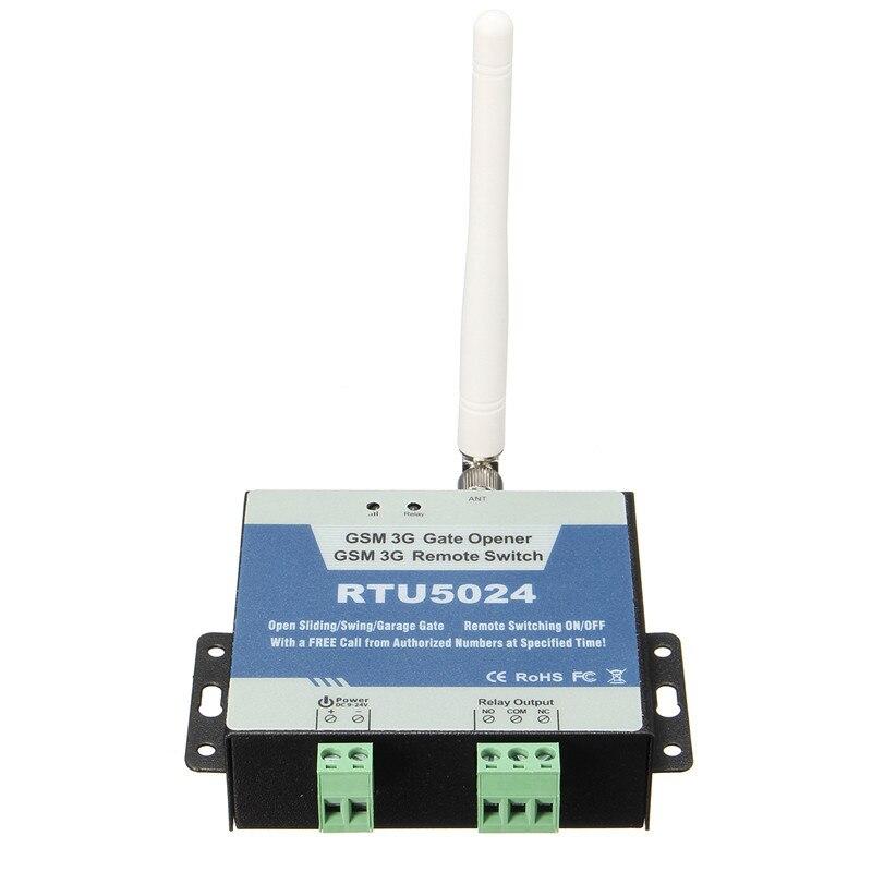 RTU5024 GSM Gate Opener Relay Switch Remote Access Control Wireless Door Open Home Good Helper