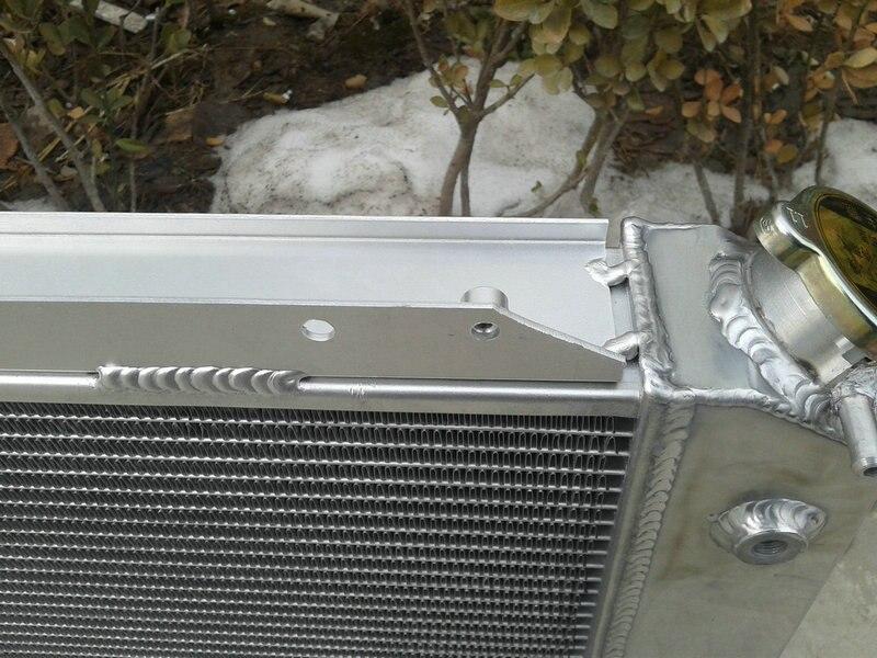 Алюминий радиатор+ вентилятор 1966-1977 для FORD BRONCO 5.0L V8 76 75 74 73 72 66 67