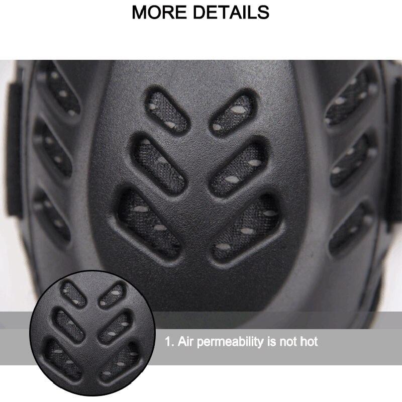 Moto protecteur genou coude dur course armure garde réglable bande élastique - 5