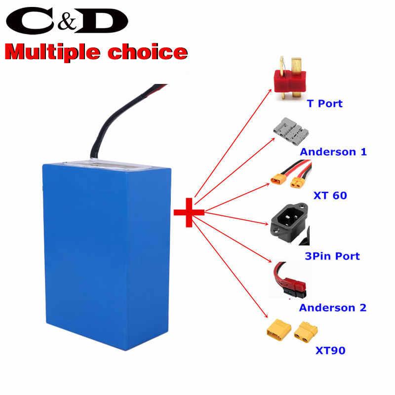 Chatrider 3000W 60 V 20AH 10AH 30AH dostosowana bateria do rowerów elektrycznych e-bike bateria 60 V bateria litowa 60A BMS ue bez podatku
