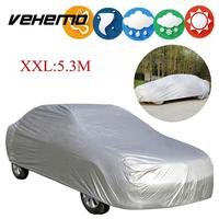 Waterproof Car Cover Skin Protector Aganist UV Rain Resistant Snow Dust Outdoor
