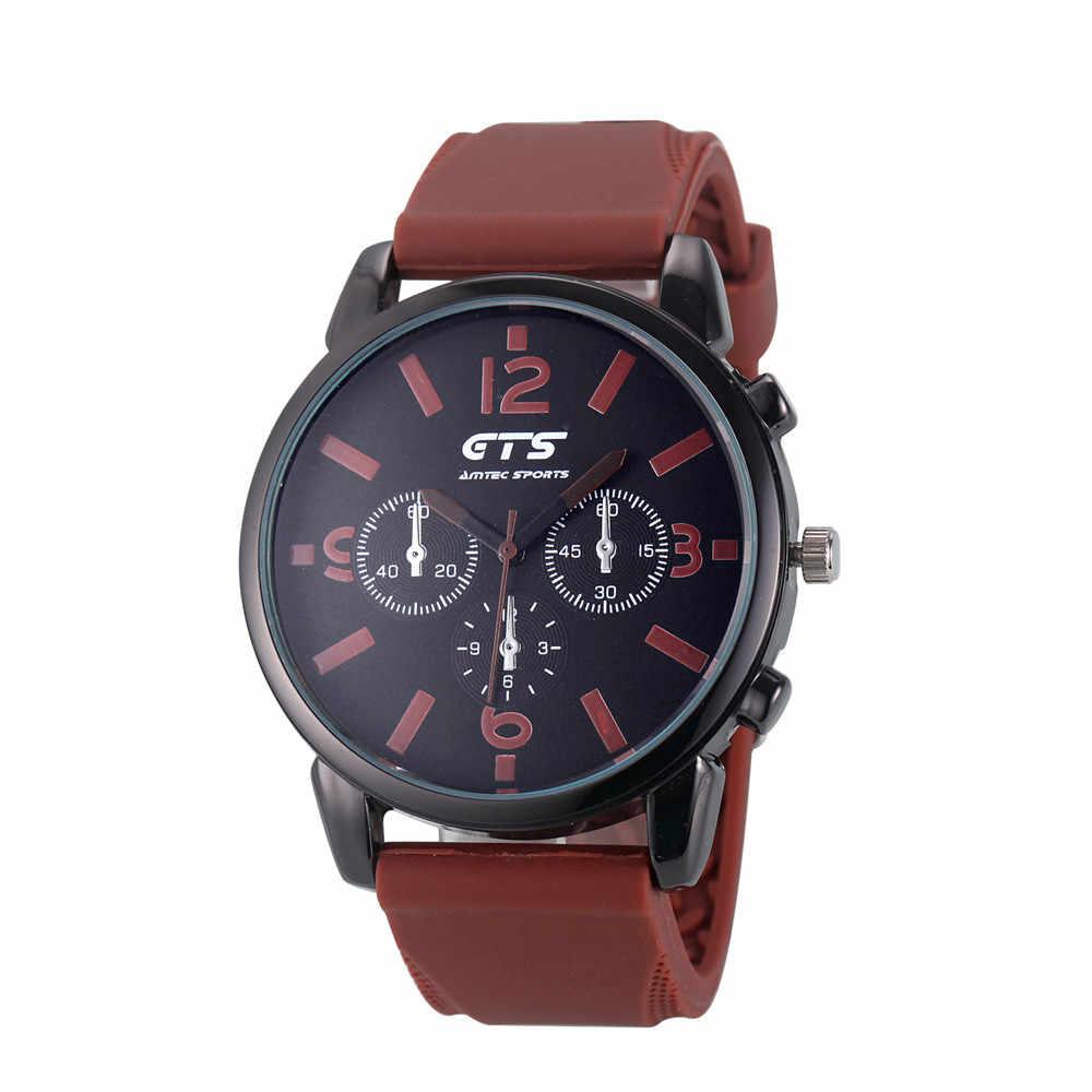 Hommes montres montres Colorées De Mode Pour Hommes de Style décontracté Silicone Bande Analogique Quartz Sport montre-Bracelet relogio masculino montre femme