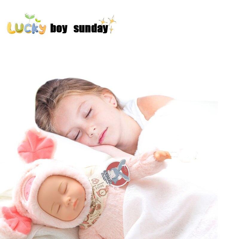 Reborn babys puppen cute baby silikon gefüllte pvc kinder plüsch ...