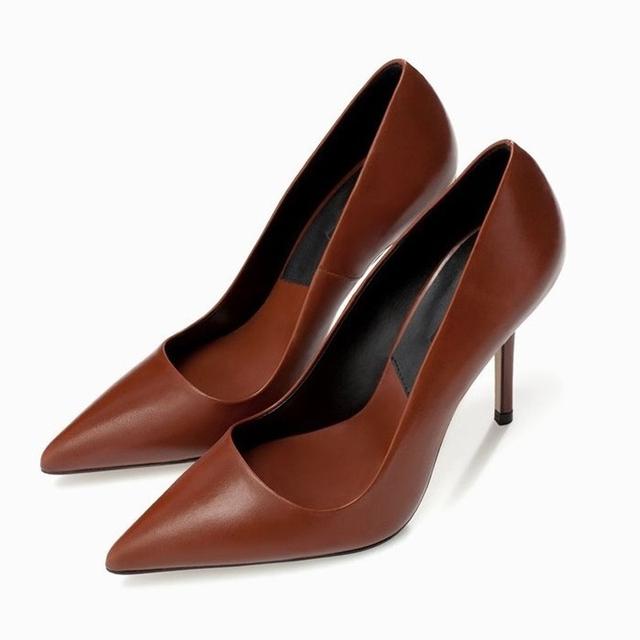 2017 Pequeño Tamaño 32-40 Moda Rojo Sexy zapatos de Tacón Alto de Las Mujeres bombas de Señoras de la Oficina Zapatos de Mujer Chaussure Femme 33 34 Negro opcional