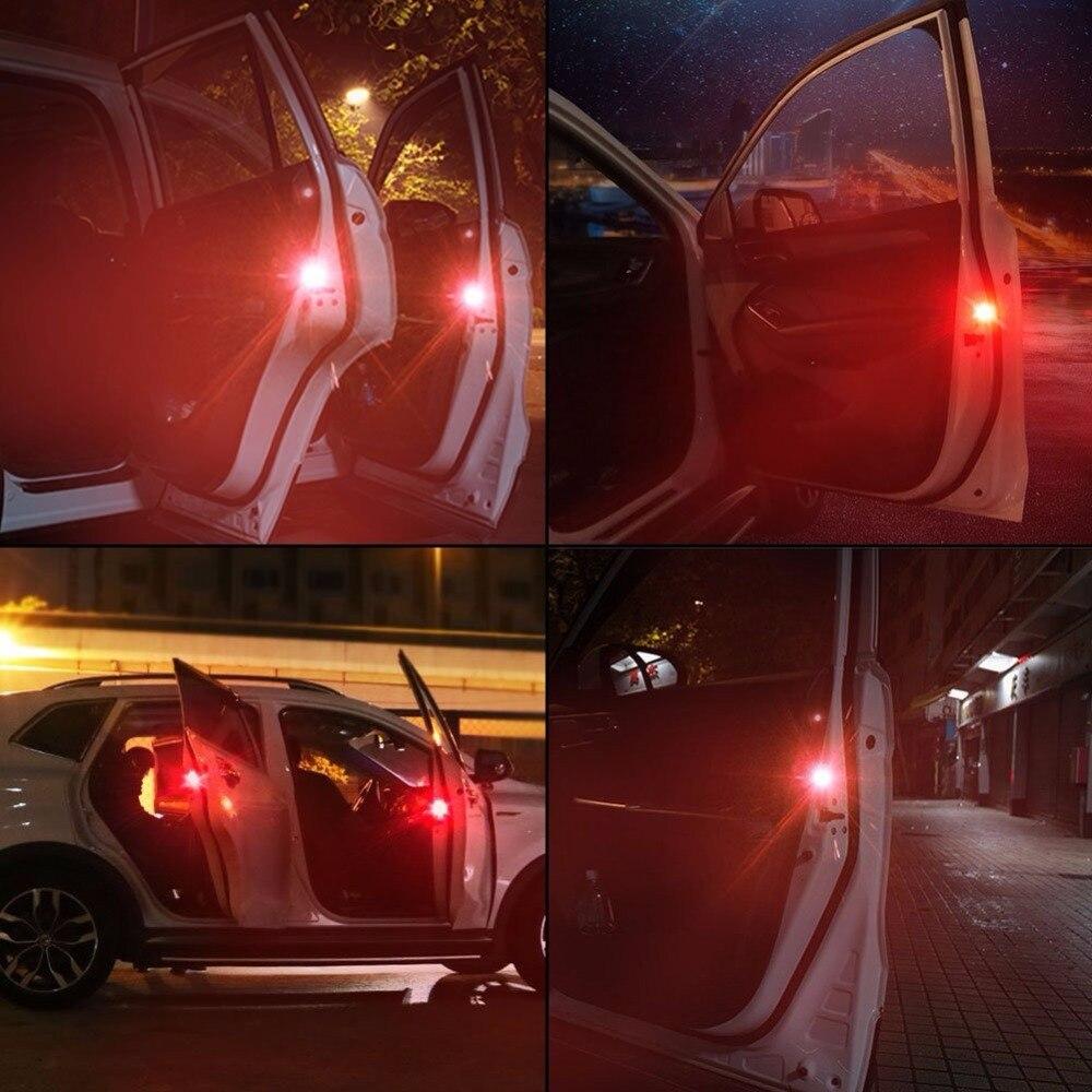 4pcs Car-styling LED Car Warning Light Strobe Light Door Light Traffic Signal Lamp For BMW Volkswagen Citroen Toyota Audi A6 C6
