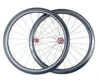 Гольф поверхности колеса углерода 45 мм Глубина 25 мм ширина углерода колесной полный углеродного волокна поверхности углубления 303 колесная