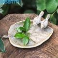 JINSERTA металлический лоток для хранения ювелирных изделий  витрина в стиле ретро  косметический Органайзер для ванной  мыльница для рабочего ...
