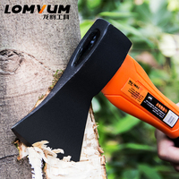 LOMVUM High Quality Fiber Handle Axe Outdoor Hunting Camping Survival Machete Axes Hand Tool Machadinha Practical Axe