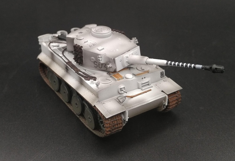 1:72 World War II the Germans Tiger tank model Wittman ace car Trumpeter finished Collection model Holiday gifts