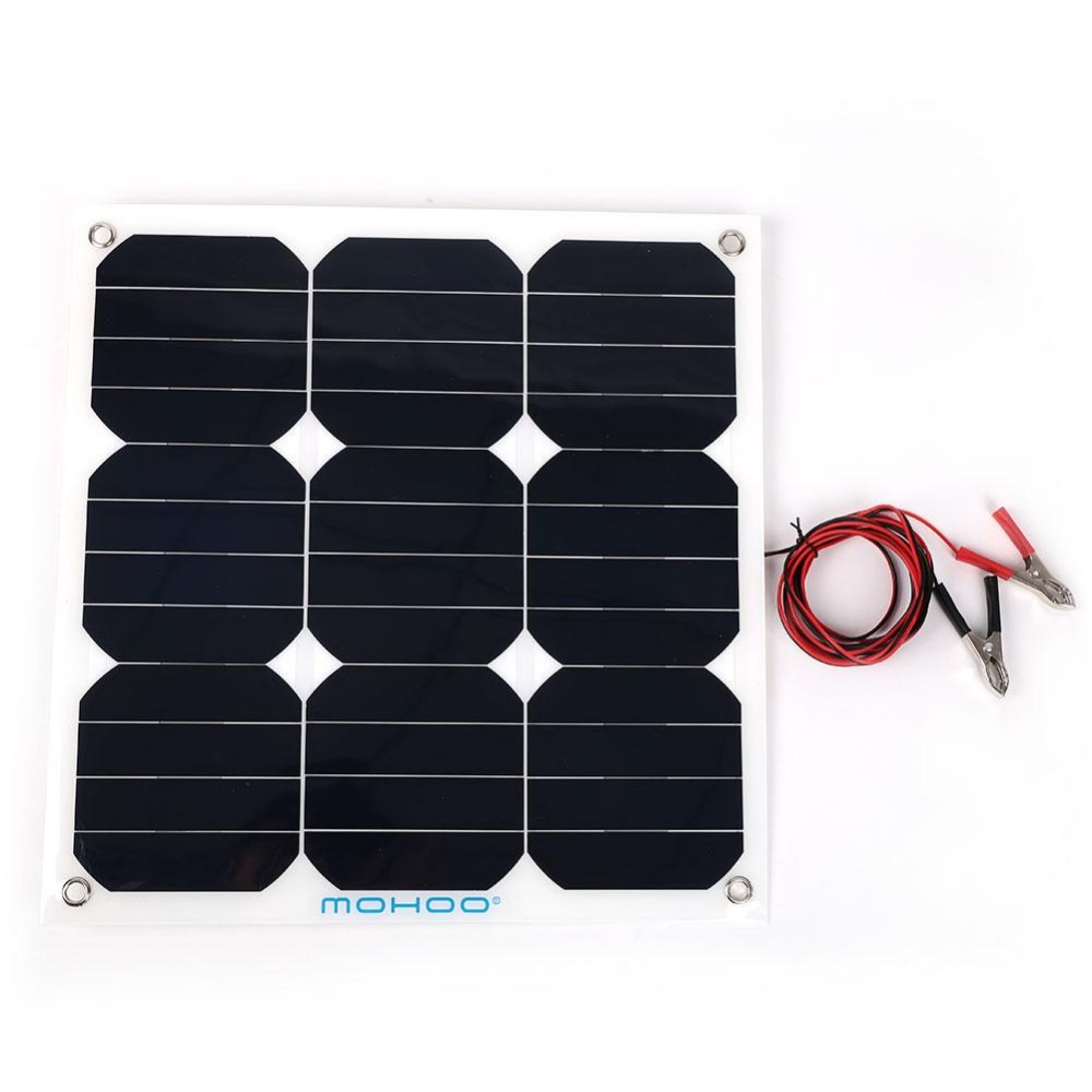 30W 18V Flexible Boat Caravan Car Solar Panel For Outdoor Activity Covenience 50pcs high quality adaptation sanyo chunhua vacuum cleaner accessories dust bag garbage paper bag xtw 80 zw80 936