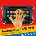 Quad Core Android 4.4 2Din coches reproductor de dvd gps de 7 Pulgadas Para Volkswagen VW Skoda POLO PASSAT B6 CC TIGUAN GOLF 5 Fabia Wifi Cam 1080