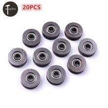 20 PCS 3*12*4 milímetros V623/603ZZ Alta Aço Carbono V-sulco vestígios de Roda Polia rodas de temporização Polia