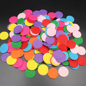 200Pcs/lot Felt Fabric Patch Kids Doll Hair Sewing