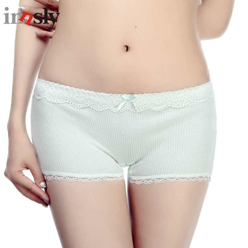 a0ce1486006a Innsly Panties Women Boyshort Female Underwear Health Cotton Lingeries Women  Briefs Female Short Pants Breathable Safety