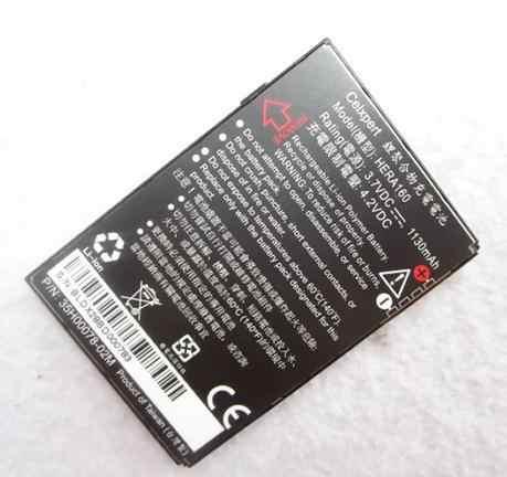 Batería de teléfono móvil ALLCCX de alta calidad HERA160 para HTC P4350 C800 C858 Atlas Herald 100 P4351 con buena cantidad