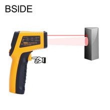 Digital Infrared Thermometer Non-contact Digital Thermometer With LCD Backlight -50-600C 12:1 Temperature Gun