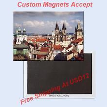 FREE shipping over $12 German Prague Panoramic View Landscape Tourist Metal Fridge Magnet 5245