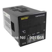 Sestos Dual Digital Pid Temperature Controller 2 Omron Relay Output Black D1S 2R 220